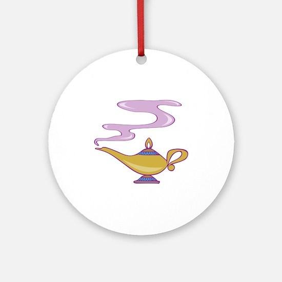 Magic Lamp Ornament (Round)