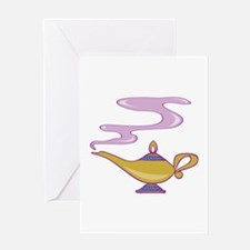 Magic Lamp Greeting Cards
