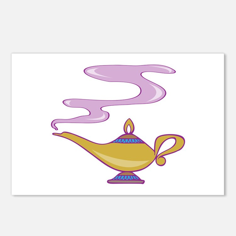 Magic Lamp Postcards (Package of 8)