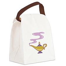 Magic Lamp Canvas Lunch Bag
