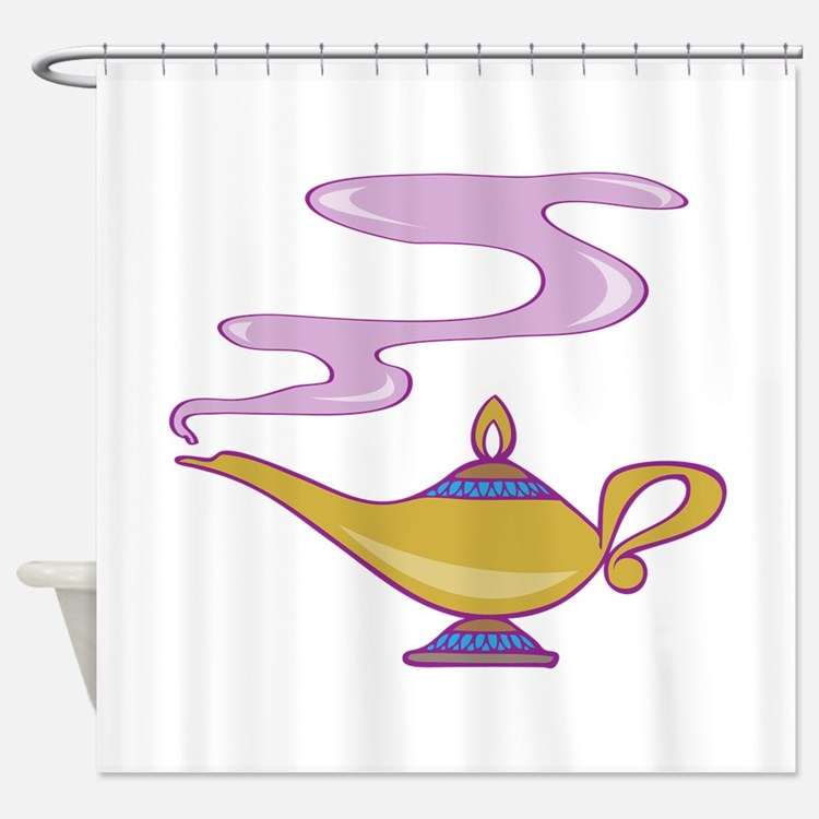 Magic Lamp Shower Curtain