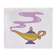 Magic Lamp Throw Blanket