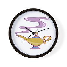 Magic Lamp Wall Clock