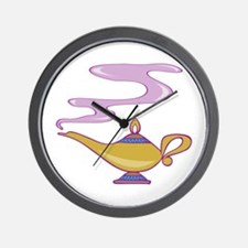 Magic Lamp Wall Clock