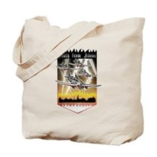 Funny Death from above Tote Bag