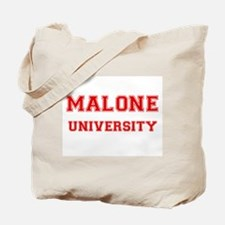 MALONE UNIVERSITY Tote Bag