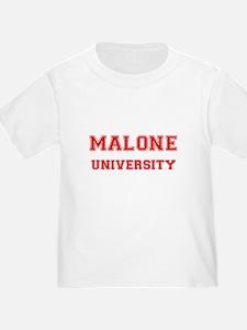 MALONE UNIVERSITY T