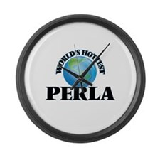 World's Hottest Perla Large Wall Clock