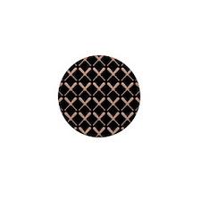 Baseball Bat Pattern Mini Button (10 pack)