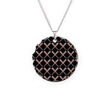 Baseball Bat Pattern Necklace