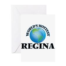 World's Hottest Regina Greeting Cards