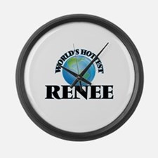 World's Hottest Renee Large Wall Clock