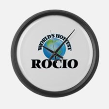 World's Hottest Rocio Large Wall Clock