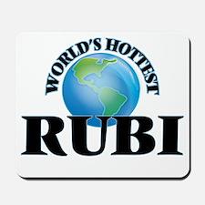 World's Hottest Rubi Mousepad