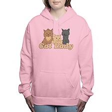 Cat Lady Women's Hooded Sweatshirt