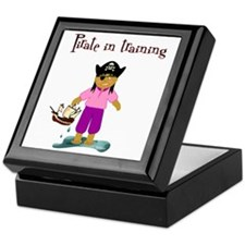 Pirate girl Keepsake Box