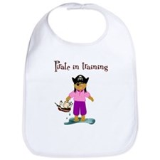 Pirate girl Bib