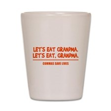 LET'S EAT GRANDMA. Shot Glass