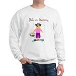 Pirate girl Sweatshirt