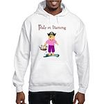 Pirate girl Hooded Sweatshirt