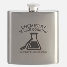 Chemistry Is Like Cooking Flask