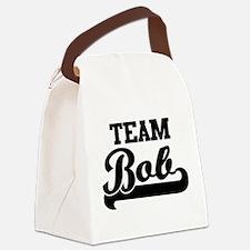 Team Bob Canvas Lunch Bag
