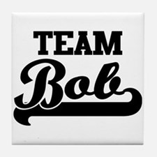 Team Bob Tile Coaster
