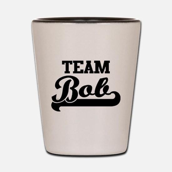 Team Bob Shot Glass
