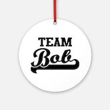 Team Bob Ornament (Round)