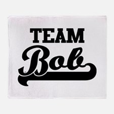 Team Bob Throw Blanket