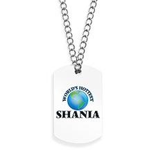 World's Hottest Shania Dog Tags
