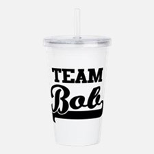 Team Bob Acrylic Double-wall Tumbler
