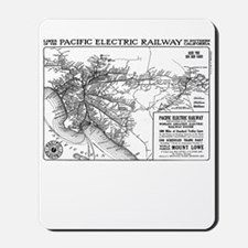 Red Car Map Mousepad