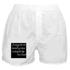HAIR STYLIST QUOTE Boxer Shorts