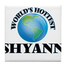 World's Hottest Shyann Tile Coaster