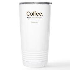 Black Coffee Travel Mug