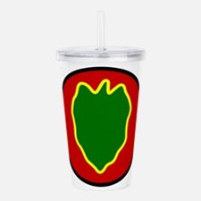 24th InfantryDivision. Acrylic Double-wall Tumbler