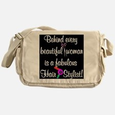 INSPIRING HAIR STYLIST Messenger Bag