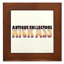 Antique Collectors Kick Ass Framed Tile