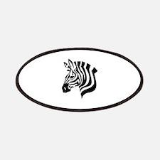 Zebra Head Patches
