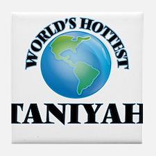 World's Hottest Taniyah Tile Coaster