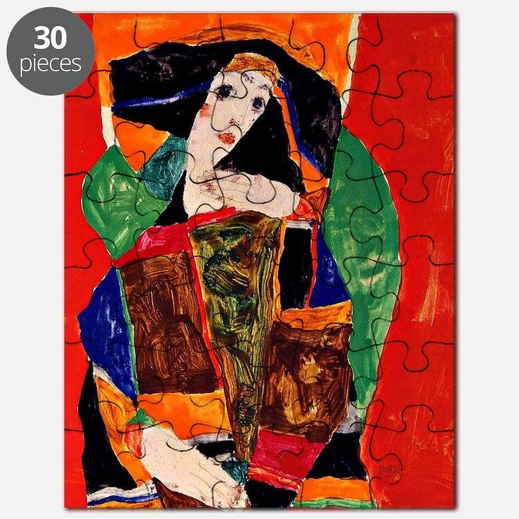 Portrait of a Woman Puzzle