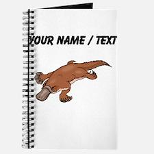 Custom Brown Platypus Journal