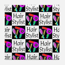 FABULOUS HAIR CUT Tile Coaster