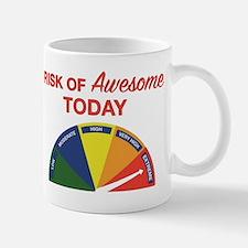 Risk of awesome today Mug