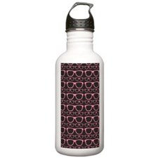 Cute Retro Eyeglass Hi Water Bottle