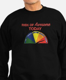 Risk of awesome today Sweatshirt
