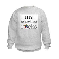 My Grandma Rocks Sweatshirt