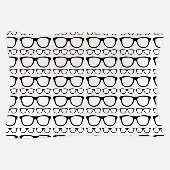 Cute Retro Eyeglass Hipster Pillow Case