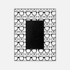 Cute Retro Eyeglass Hipster Picture Frame